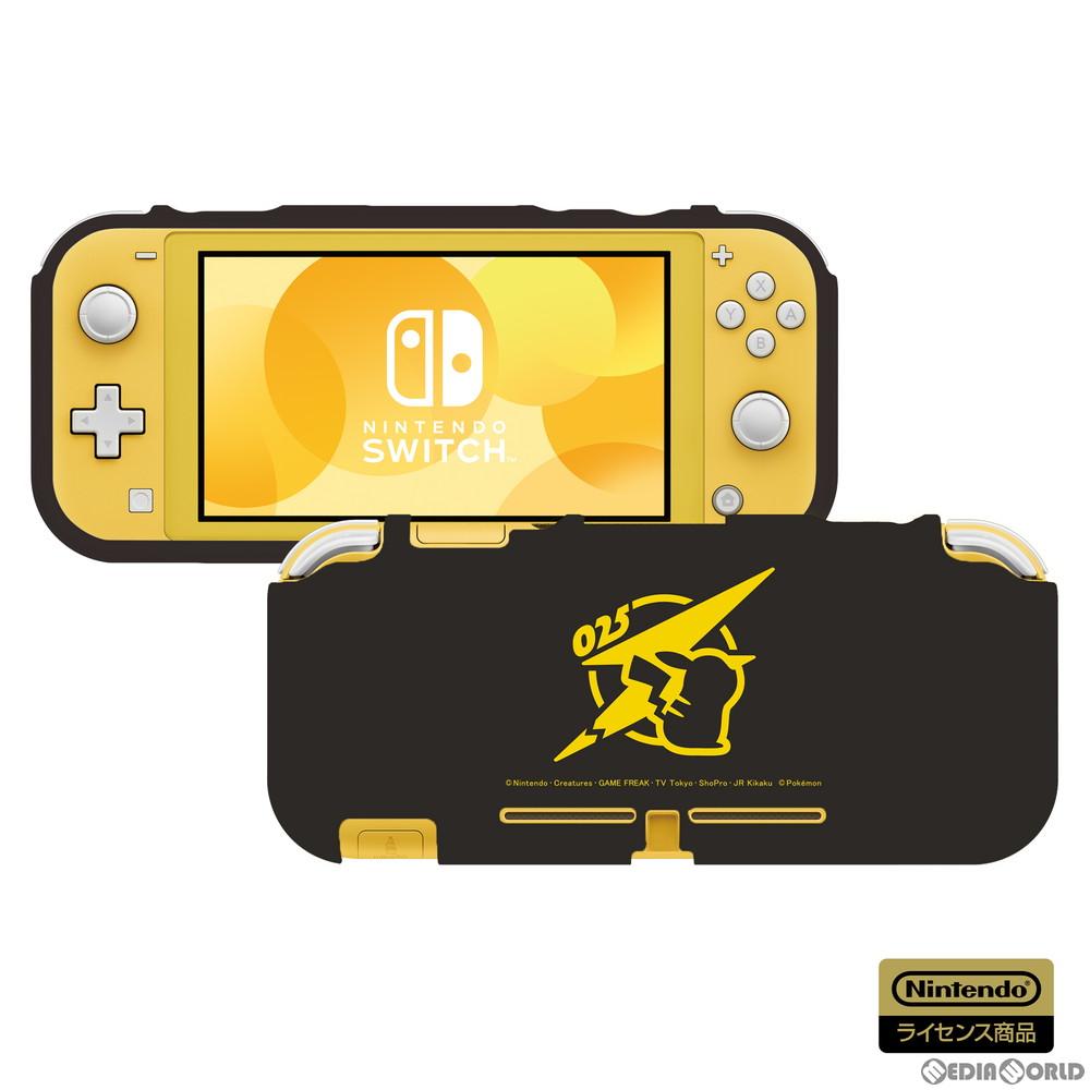 【新品】【お取り寄せ】[ACC][Switch]TPUセミハードカバー for Nintendo Switch Lite(ニンテンドースイッチライト) ピカチュウ - COOL 任天堂ライセンス商品 HORI(NS2-070)(20200716)
