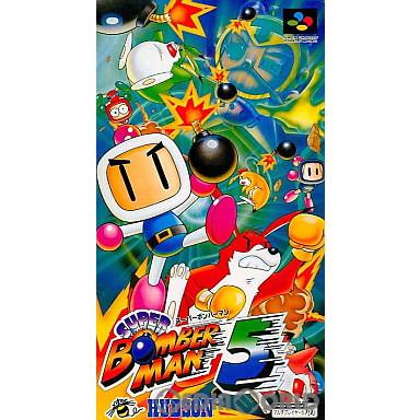 【中古即納】[箱説明書なし][SFC]スーパーボンバーマン5(19970228)