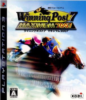 【中古即納】[PS3]Winning Post 7 MAXIMUM2007(ウイニングポスト7 マキシマム2007)(20070329)