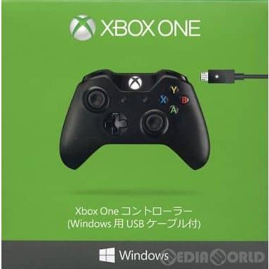 【中古即納】[ACC][XboxOne]Xbox One コントローラー(Windows用USBケーブル付) 日本マイクロソフト(7MN-00005)(20141114)