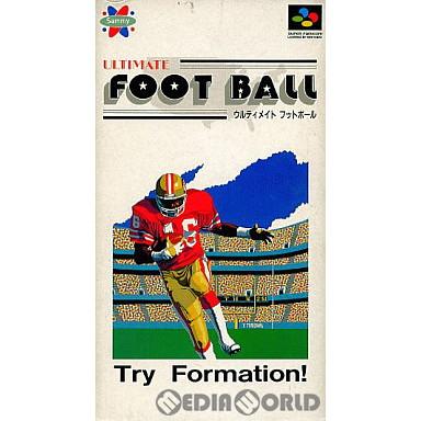 【中古即納】[SFC]ウルティメイトフットボール(19920724)