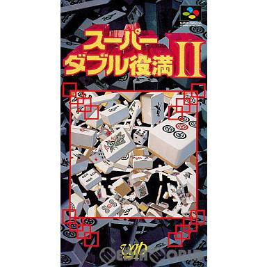 【中古即納】[箱説明書なし][SFC]スーパーダブル役満II(スーパーダブル役満2)(19970314)