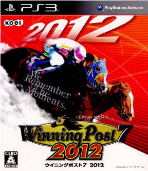 【中古即納】[PS3]Winning Post7 2012(ウイニングポスト7 2012)(20120315)