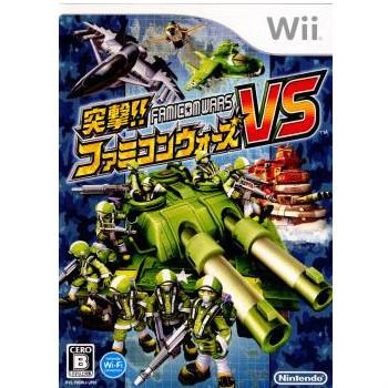 【中古即納】[Wii]突撃!!ファミコンウォーズVS(FAMICOMWARS)(20080515)