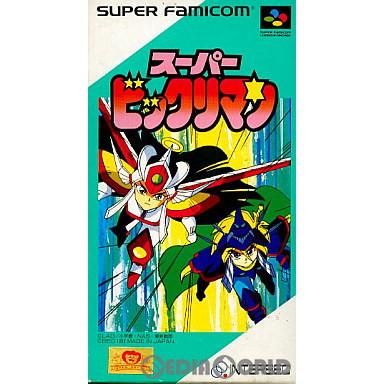 【中古即納】[箱説明書なし][SFC]スーパービックリマン(19930129)