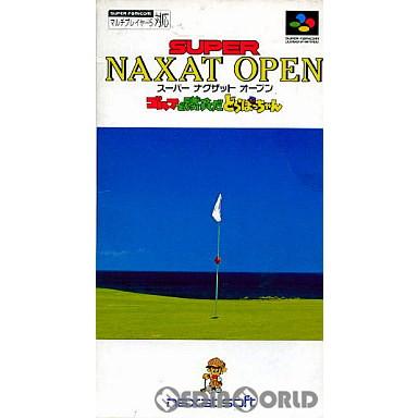 【中古即納】[箱説明書なし][SFC]スーパーナグザットオープン(19940318)