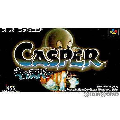【中古即納】[箱説明書なし][SFC]キャスパー(19970314)