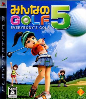 【中古即納】[PS3]みんなのGOLF 5(20070726)
