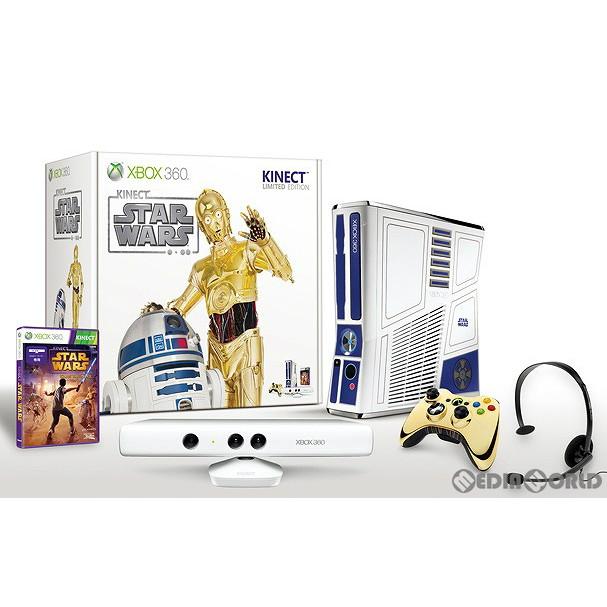【中古即納】[B品][本体][Xbox360]Xbox360 320GB Kinect(キネクト) スター・ウォーズ リミテッドエディション(5XK-00014)(20120405)