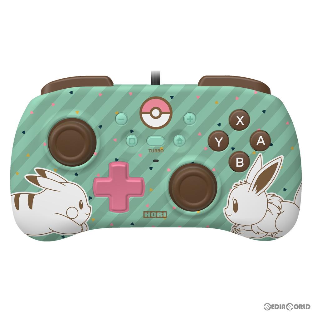 【新品】【お取り寄せ】[ACC][Switch]ホリパッドミニ for Nintendo Switch(ニンテンドースイッチ) ピカチュウ&イーブイ 任天堂ライセンス商品 HORI(NSW-279)(20200709)
