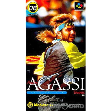 【中古即納】[箱説明書なし][SFC]アンドレ・アガシテニス(19940331)