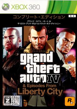 【中古即納】[表紙説明書なし][Xbox360]GrandTheftAuto IV(グランド・セフト・オート4) コンプリートエディション(20110623)