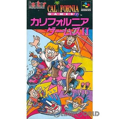 【中古即納】[箱説明書なし][SFC]カリフォルニアゲームズII(CALIFORNIA GAMES 2)(19930312)