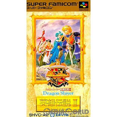 【中古即納】[箱説明書なし][SFC]ドラゴンスレイヤー 英雄伝説II(Dragon Slayer: The Legend Of Heroes 2)(19930604)