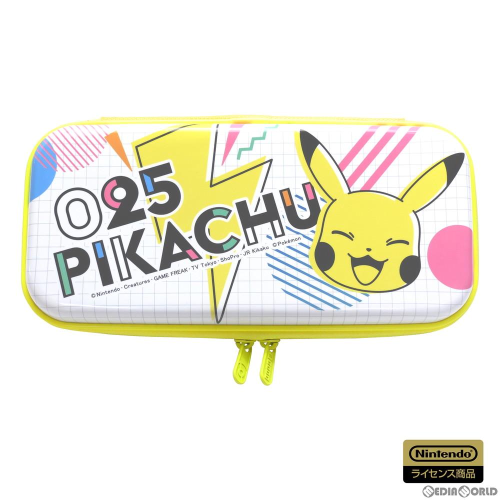 【新品即納】[ACC][Switch]ハイブリッドポーチ for Nintendo Switch(ニンテンドースイッチ) ピカチュウ - POP 任天堂ライセンス商品 HORI(NSW-270)(20200716)