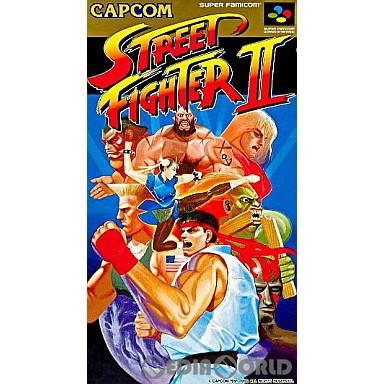 【中古即納】[SFC]ストリートファイターII(STREET FIGHTER 2 The World Warrior)(19920610)