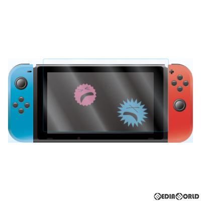 【新品即納】[ACC][Switch]Switch用(スイッチ用) 抗菌BLCガラスフィルム アローン(ALG-NSBABGF)(20200610)
