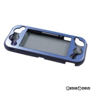 【新品】【お取り寄せ】[ACC][Switch]Switch Lite用(スイッチライト用) アルミニウムケース ブルー アローン(ALG-NSMALB)(20200422)