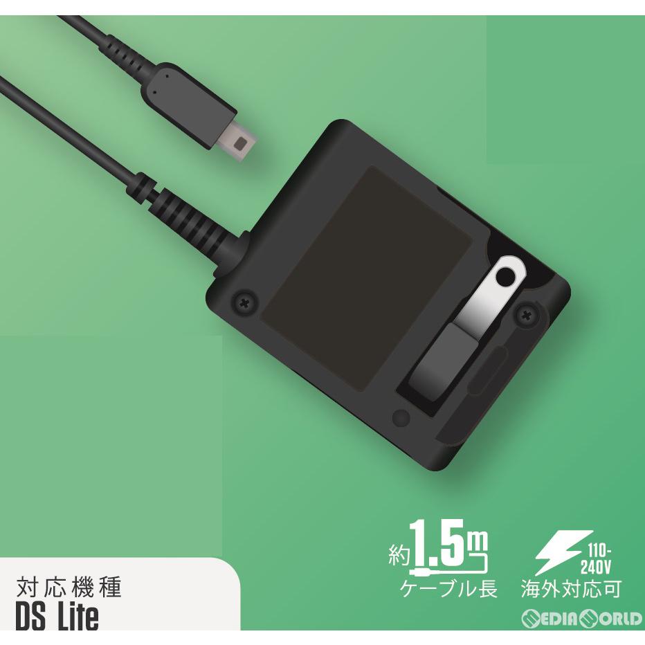 【新品】【お取り寄せ】[ACC][NDS]ACアダプター(DS lite用) スリーアロー(THA-NT000)(20200120)