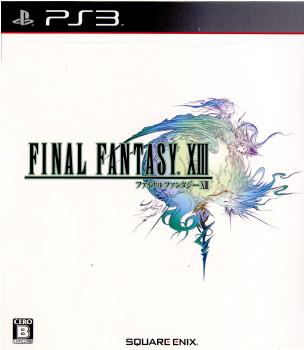 【中古即納】[PS3]ファイナルファンタジーXIII(FINAL FANTASY 13/FF13)(20091217)