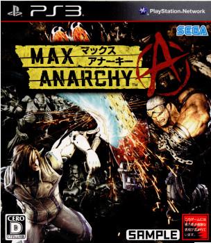 【中古即納】[PS3]MAX ANARCHY(マックスアナーキー)(20120705)
