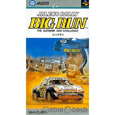 【中古即納】[箱説明書なし][SFC]BIG RUN(ビッグラン)(19910320)