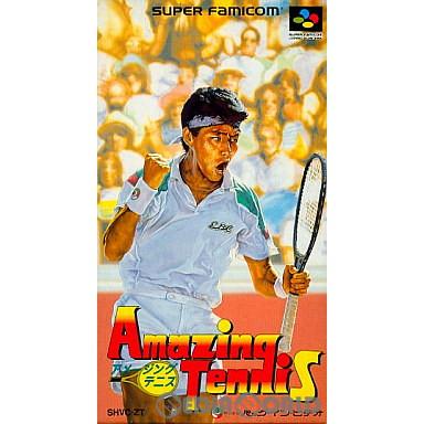 【中古即納】[箱説明書なし][SFC]アメージングテニス(19921218)
