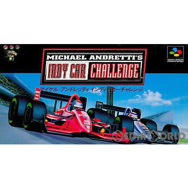 【中古即納】[箱説明書なし][SFC]マイケル・アンドレッティ インディカーチャレンジ(19950120)