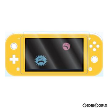 【新品即納】[ACC][Switch]Switch Lite用(スイッチライト用) 抗菌BLCガラスフィルム アローン(ALG-NSLBABGF)(20200610)