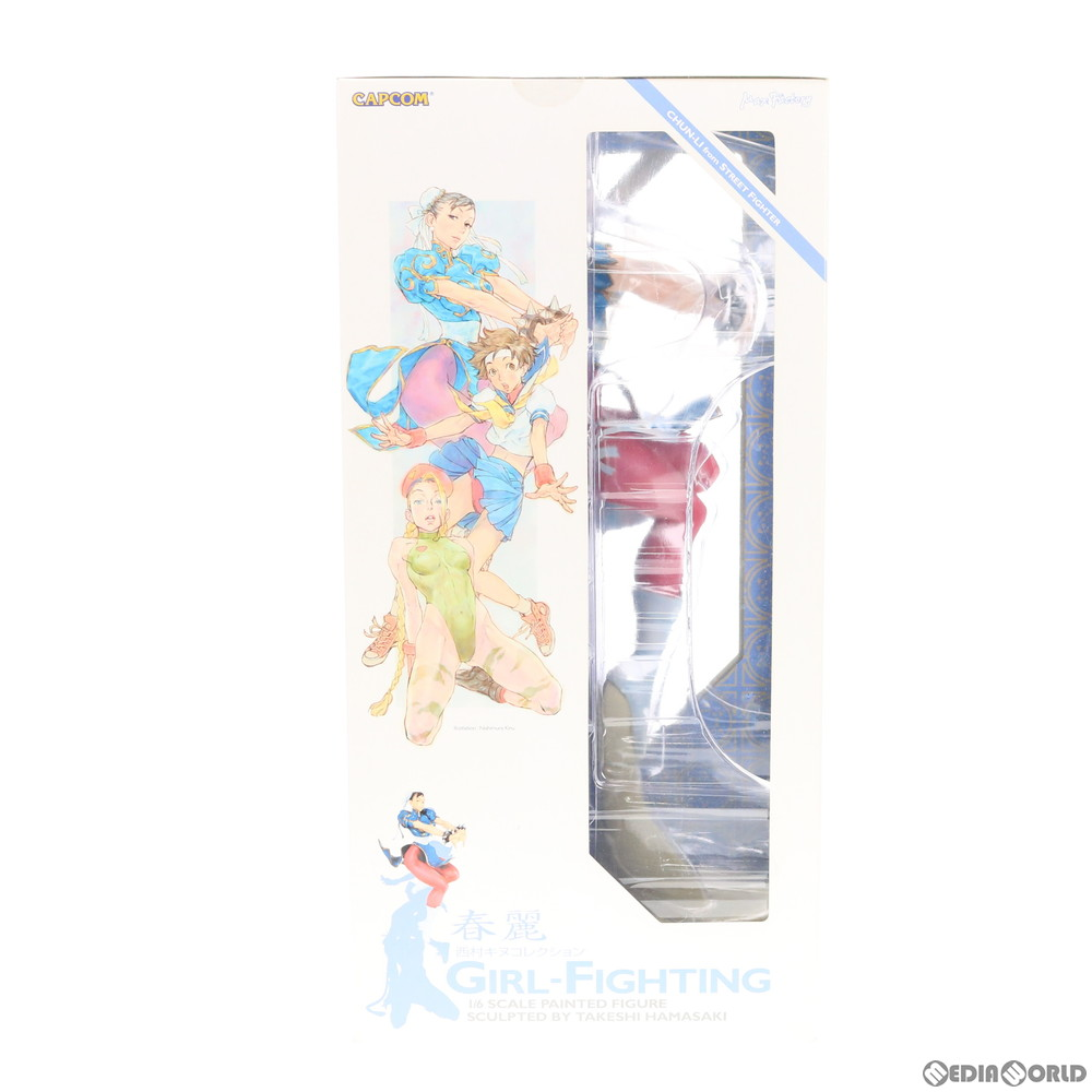 【中古即納】[未開封][FIG]西村キヌコレクション GIRL-FIGHTING 春麗(チュンリー) ストリートファイターII 1/6 完成品 フィギュア マックスファクトリー(20060319)