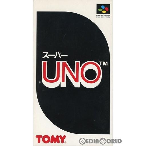 【中古即納】[箱説明書なし][SFC]スーパーUNO(ウノ)(19931112)