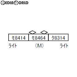 【新品即納】[RWM]A3469 近鉄8400系 田原本線 復活塗装 マルーン 3両セット Nゲージ 鉄道模型 MICRO ACE(マイクロエース)(20191226)