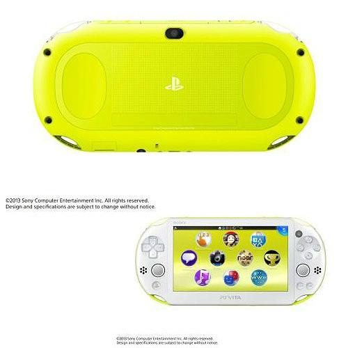 【中古即納】[B品][本体][PSVita]PlayStationVita Wi-Fiモデル ライムグリーン/ホワイト(PCH-2000ZA13)(20131010)