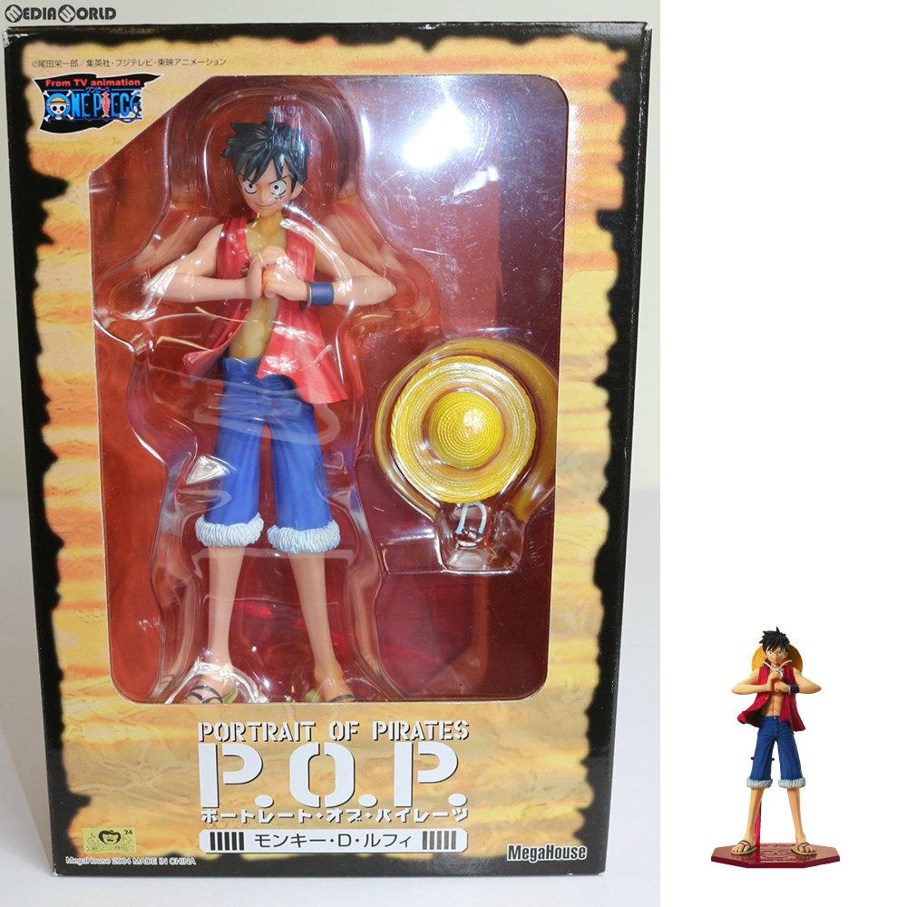 【中古即納】[FIG]エクセレントモデル Portrait.Of.Pirates P.O.P モンキー・D・ルフィ ONE PIECE(ワンピース) 1/8 完成品 フィギュア メガハウス(20040430)