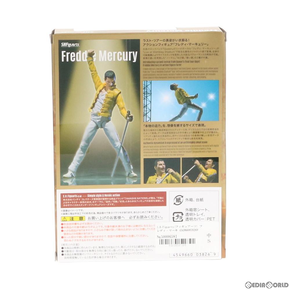 【中古即納】[未開封][FIG]S.H.Figuarts(フィギュアーツ) フレディ・マーキュリー Queen(クイーン) 完成品 可動フィギュア バンダイ(20160326)