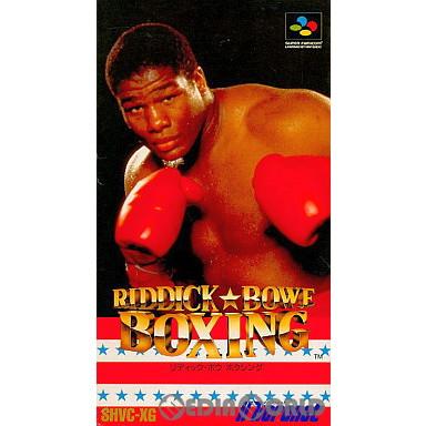 【中古即納】[箱説明書なし][SFC]RIDDICK BOWE BOXING(リディック ボウ ボクシング)(19931123)