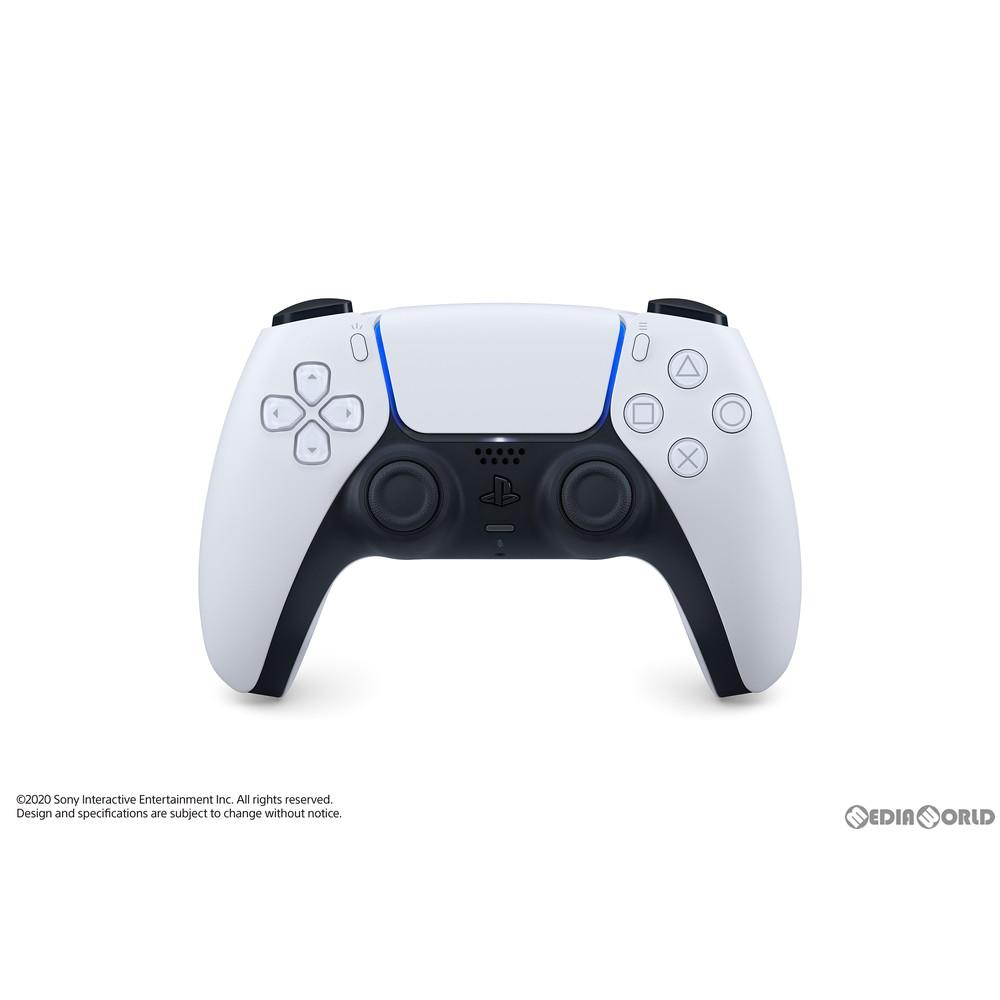 【新品即納】[ACC][PS5]DualSense(デュアルセンス) ワイヤレスコントローラー SIE(CFI-ZCT1J)(20201112)