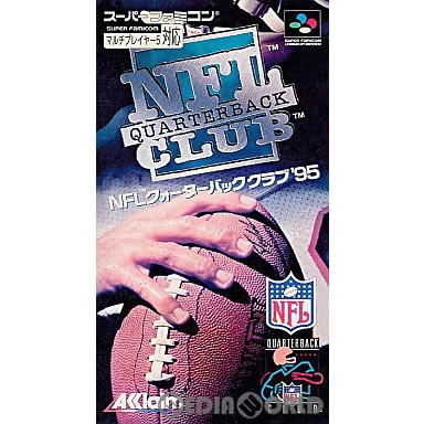 【中古即納】[箱説明書なし][SFC]NFL クォーターバッククラブ'95(19950224)