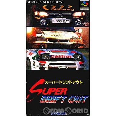 【中古即納】[箱説明書なし][SFC]スーパードリフトアウト(19950224)