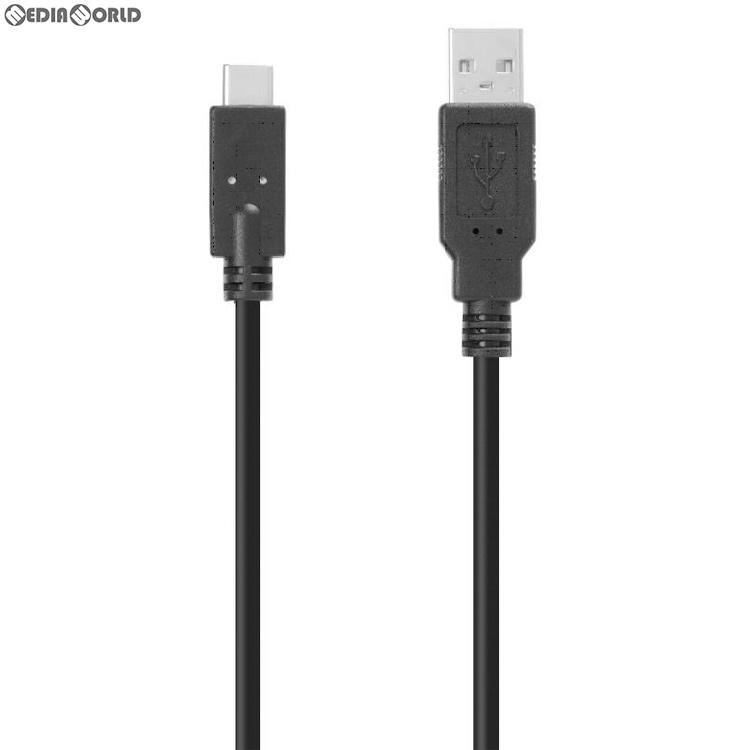 【新品】【お取り寄せ】[ACC][Switch]CYBER・USB充電ストレートケーブル ライト(SWITCH Lite/SWITCH用)(スイッチライト/スイッチ用) ブラック 3m サイバーガジェット(CY-NSSTCL3-BK)(20190920)