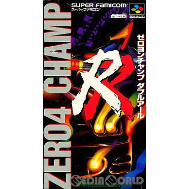 【中古即納】[箱説明書なし][SFC]ZERO4 CHAMP RR(ゼロヨンチャンプ ダブルアール)(19940722)