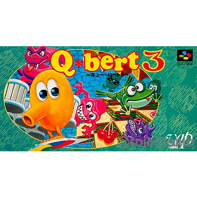 【中古即納】[箱説明書なし][SFC]Q・bert3(19930129)