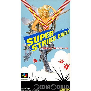 【中古即納】[箱説明書なし][SFC]F-15スーパーストライクイーグル(19931126)