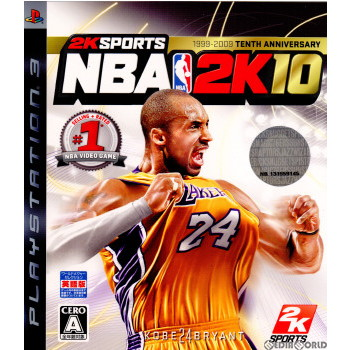 【中古即納】[PS3]NBA 2K10(英語版)(20091015)