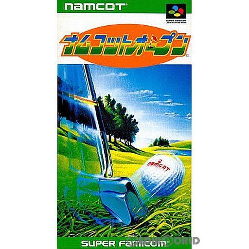 【中古即納】[箱説明書なし][SFC]ナムコットオープン(19930129)