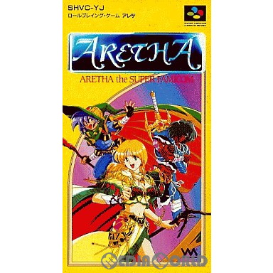 【中古即納】[箱説明書なし][SFC]ARETHA(アレサ)(19931126)
