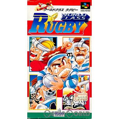 【中古即納】[箱説明書なし][SFC]ワールドクラスラグビー(19930129)
