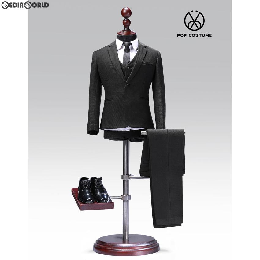 【新品即納】[FIG]1/6 メール スーツ セット 2.0 for ナローショルダー ブラック ドール用衣装(POP-X27-A) ポップトイズ(20200125)