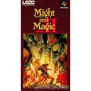 【中古即納】[箱説明書なし][SFC]Might and Magic BOOK2(マイト アンド マジックブック2)(19930122)