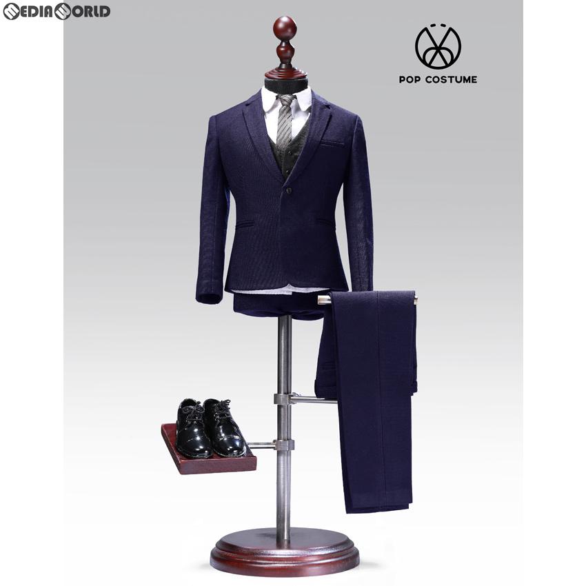 【新品即納】[FIG]1/6 メール スーツ セット 2.0 for ナローショルダー ブルー ドール用衣装(POP-X27-B) ポップトイズ(20200125)